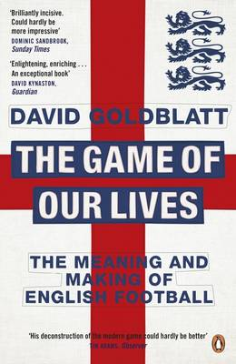THE GAME OF OUR LIVES  is published by Penguin and available now at all usual outlets.    Title image from  William Hill PLC .