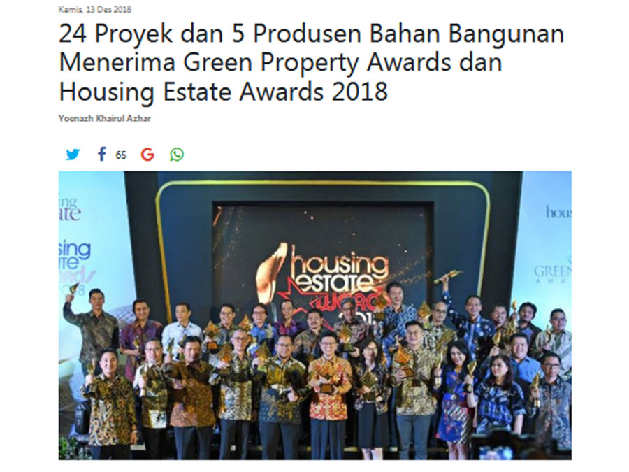 Savasa Pahanome/Green Property Awards 2018