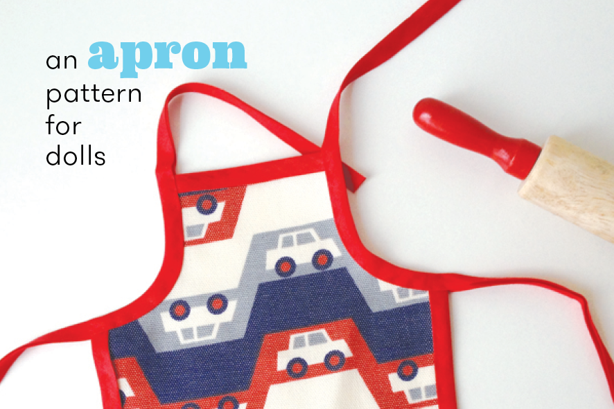 apron pattern for dolls