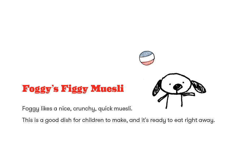 simple muesli recipes for children — windy and friends blog