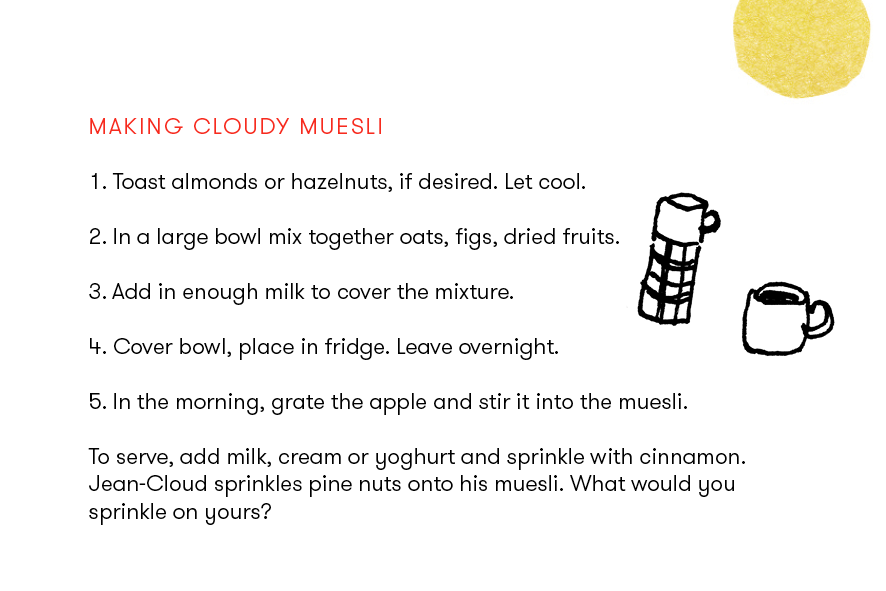 simple muesli recipes for children