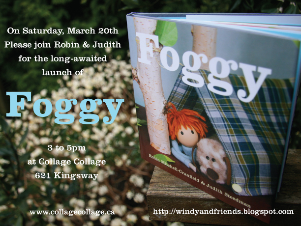 "Invitation to the book launch of ""Foggy"", our 4th book"