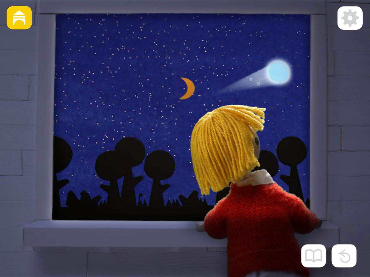 Watch comets with Windy