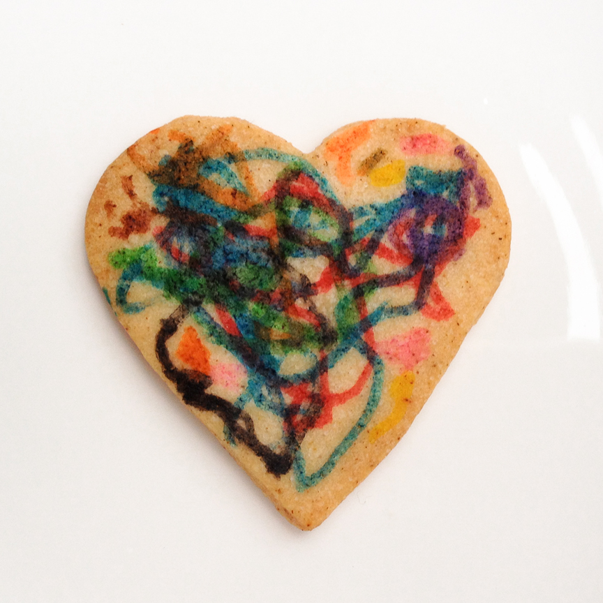 decorating cookies with children