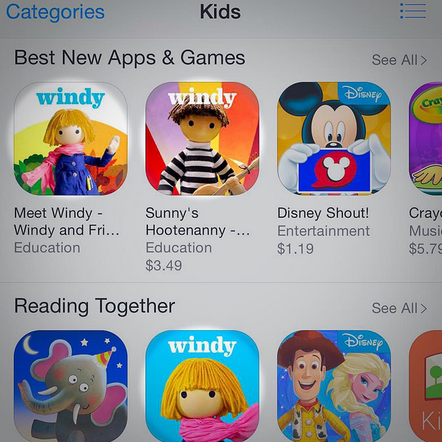 Windy & Sunny (and Windy) on iTunes