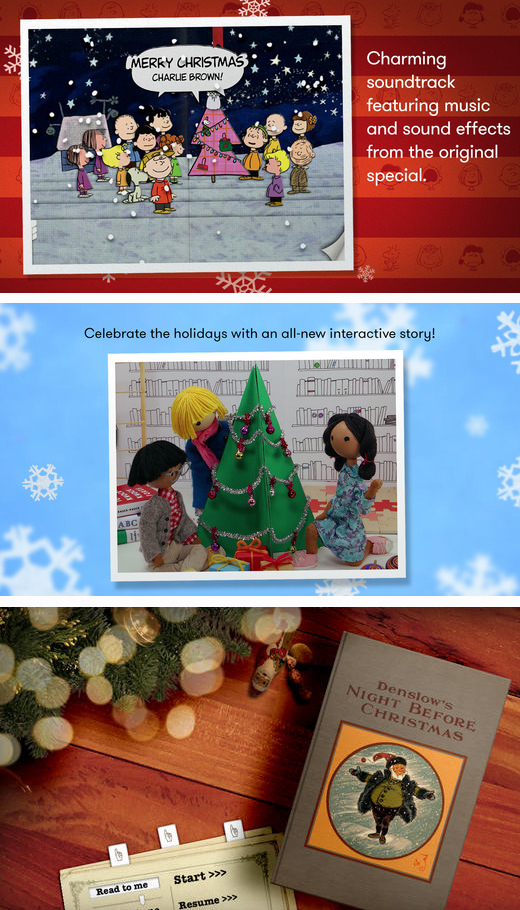 educational Christmas apps for kids