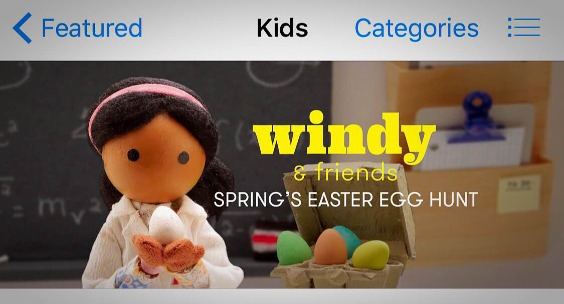 kids educational app easter
