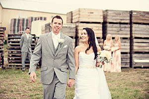 Alyce & Rob  • 2 March 2012 Meadowbank Wine Estate
