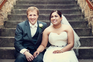 Rekha & Nicholas   •  1 September 2012 Baha'i Centre, Old Woolstore