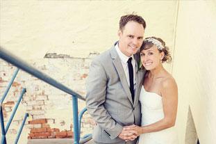 Jody & Ben  • 8 December 2012 River Derwent, Hobart City & The Old Woolstore