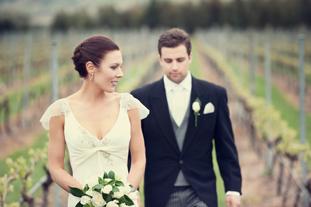Jacqui & Dave  • 6 October 2012 • Meadowbank Wine Estate