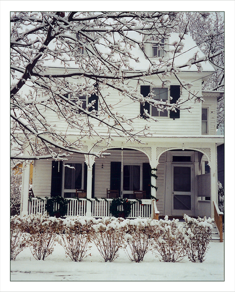 Longfellow Guest House in the winter