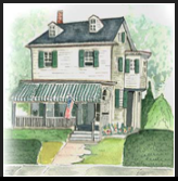 Cape May's Longfellow Guest House is an original vacation family home located on historic Hughes Street.
