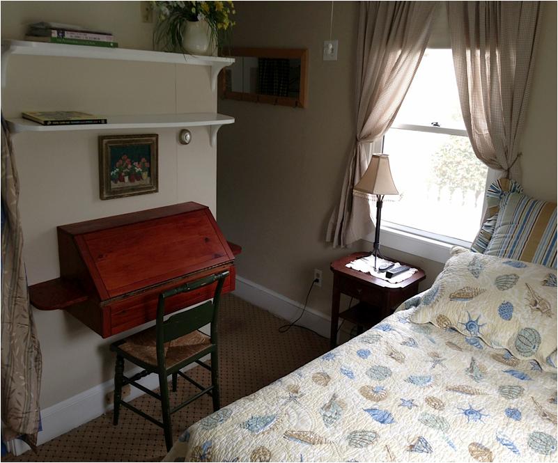 A cozy, comfortable room