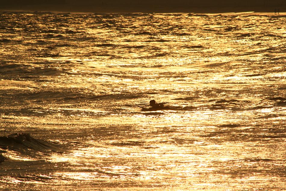 Cove's Golden Light