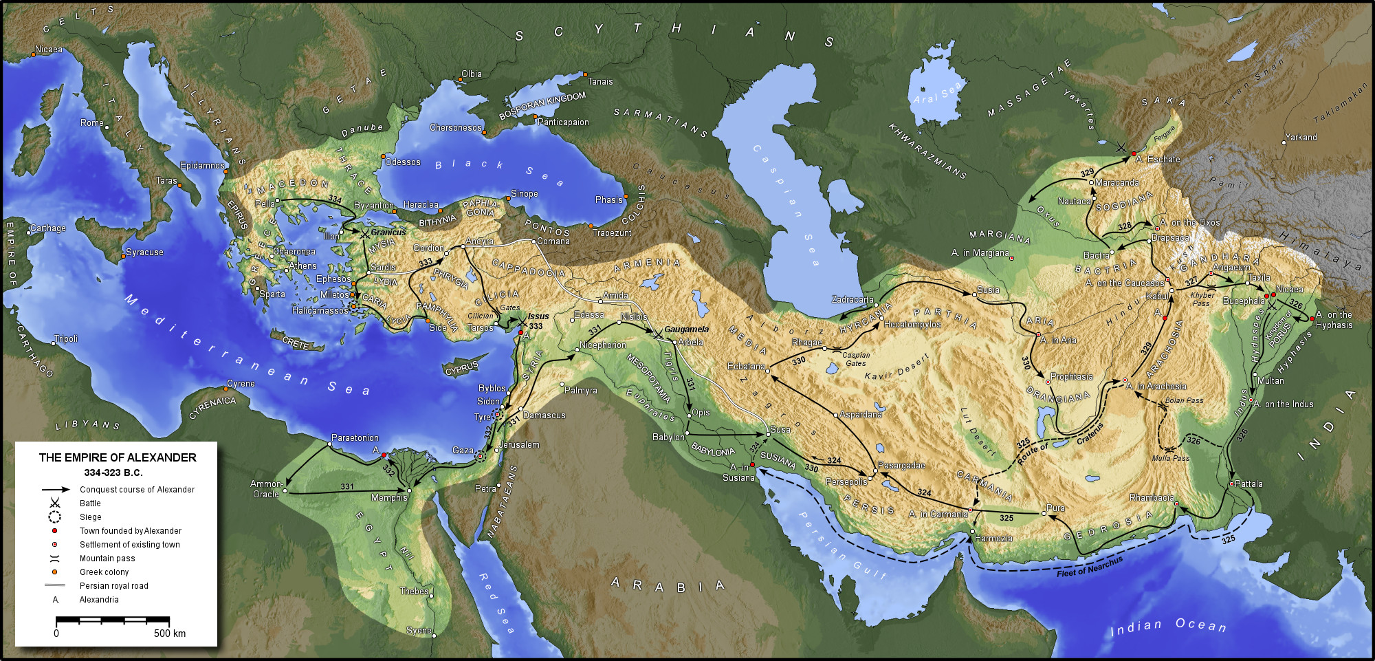 Macedon Empire (click for larger view)