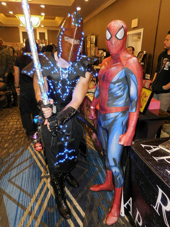 Live Video Interview at Annapolis Comic Con and Cosplay ...