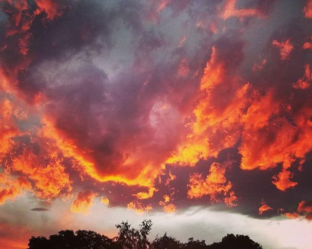 Such a beautiful #boulder #sunset #🌅