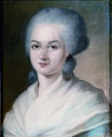 Portrait of Olympe de Gouges (via  Wikimedia Commons )