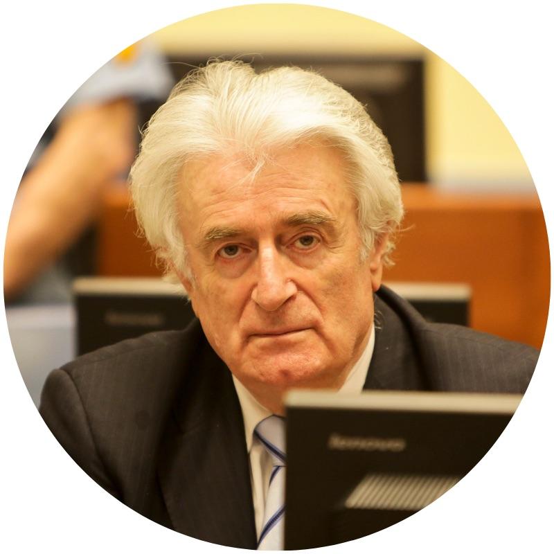 Radovan Karadzic, March 2016 (image by ICTY via  Flickr )