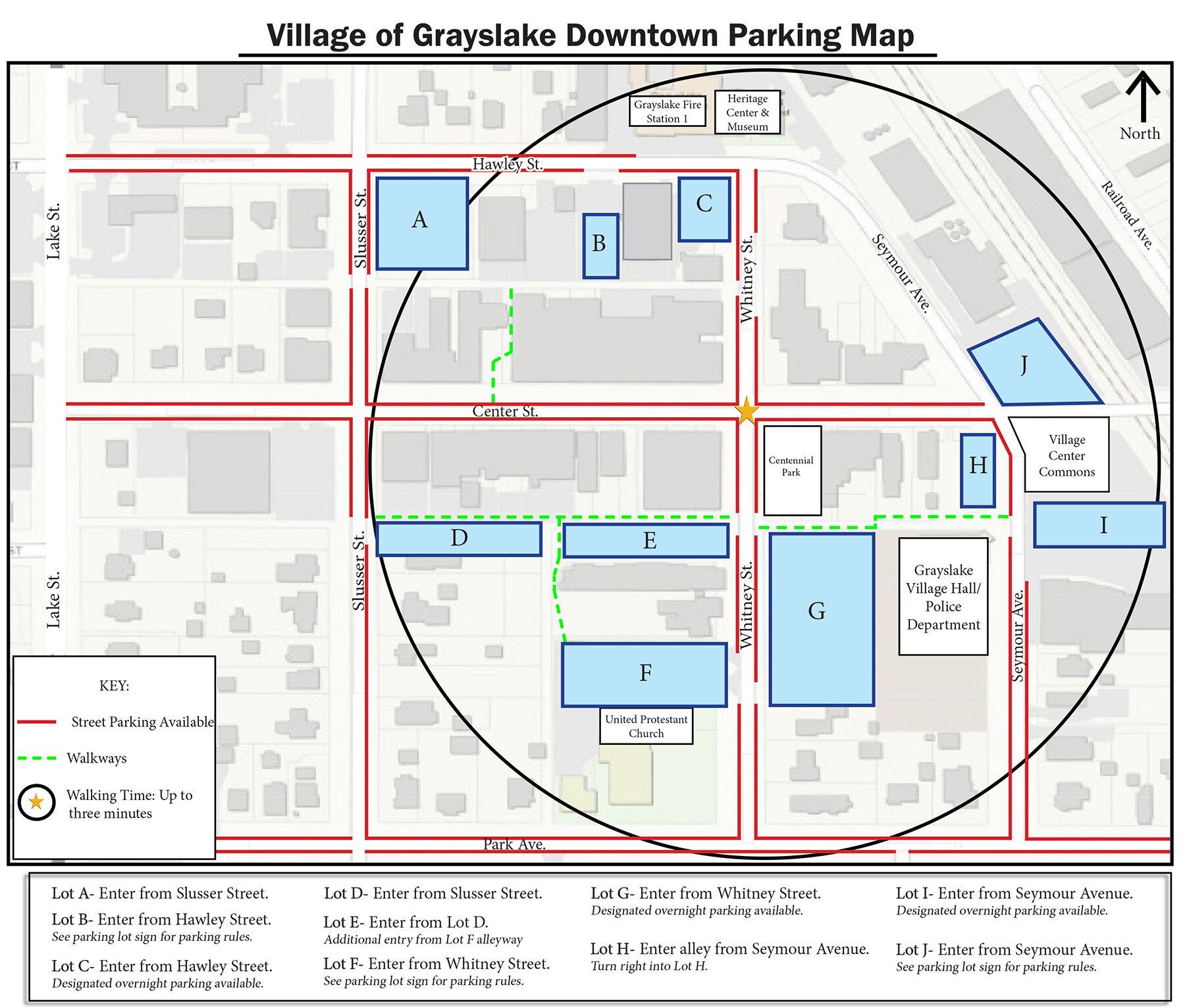 Parking Map - Download