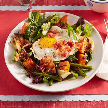 Fried Egg Salad with Bacon and Roasted Vegetables.jpg