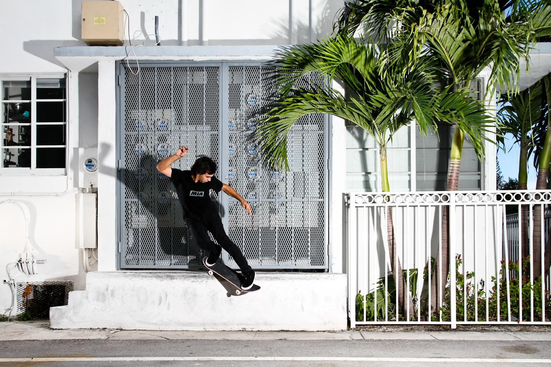 Lazaro Reyes | Backside Smith Grind | South Beach, FL