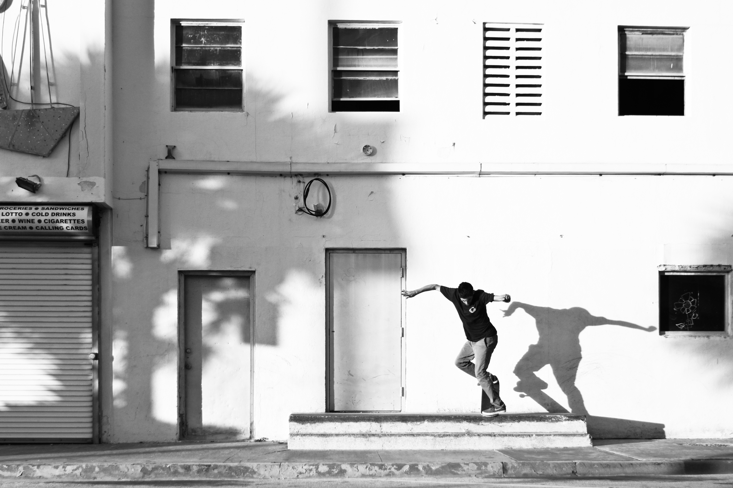 Danny Fuenzalida | Backside Noseblunt Slide | Miami Beach, FL