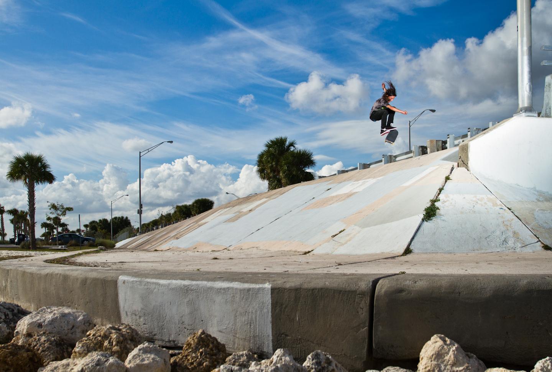 Nicolas Ferrando | Kickflip | Key Biscayne, FL