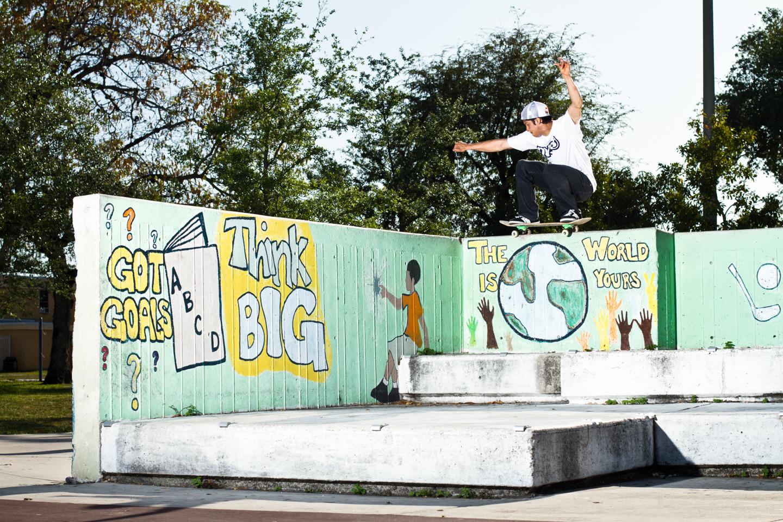 Luis Tolentio | Backside 50-50 | Miami, FL