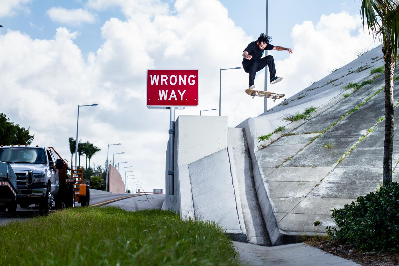 Lazaro Reyes | Frontside Flip | Miami, FL