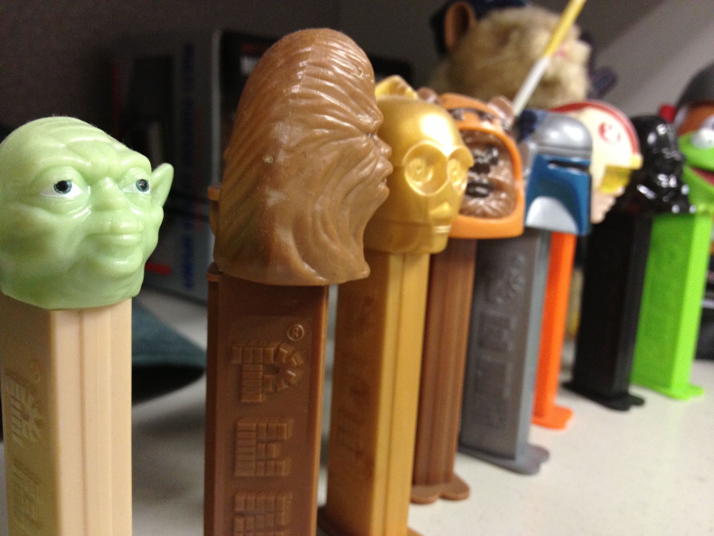 May the Pez be with you.