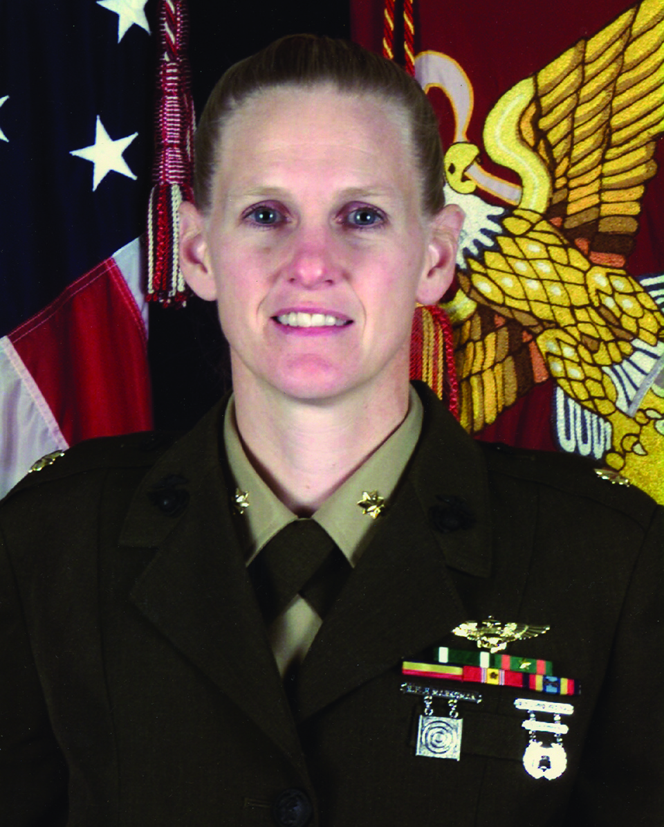 Sarah Deal Burrow, USMC officer and aviator