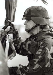 McWilliams taking command of her brigade