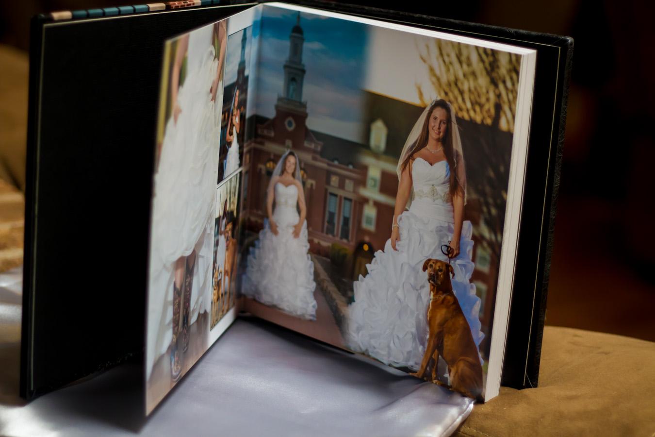 custom leather itallian handmade wedding album