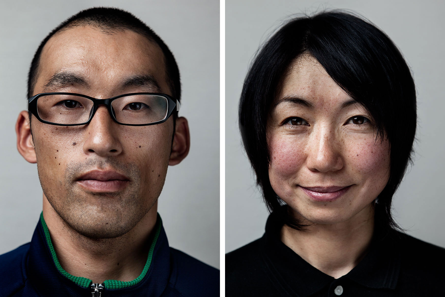 In the  Portrait  section I added these two athletes attending the hyper compatative Japan Keirin School located high up in the mountains on the Izu Peninsula, 2h south of Tokyo. These guys take dedication to a whole new level.