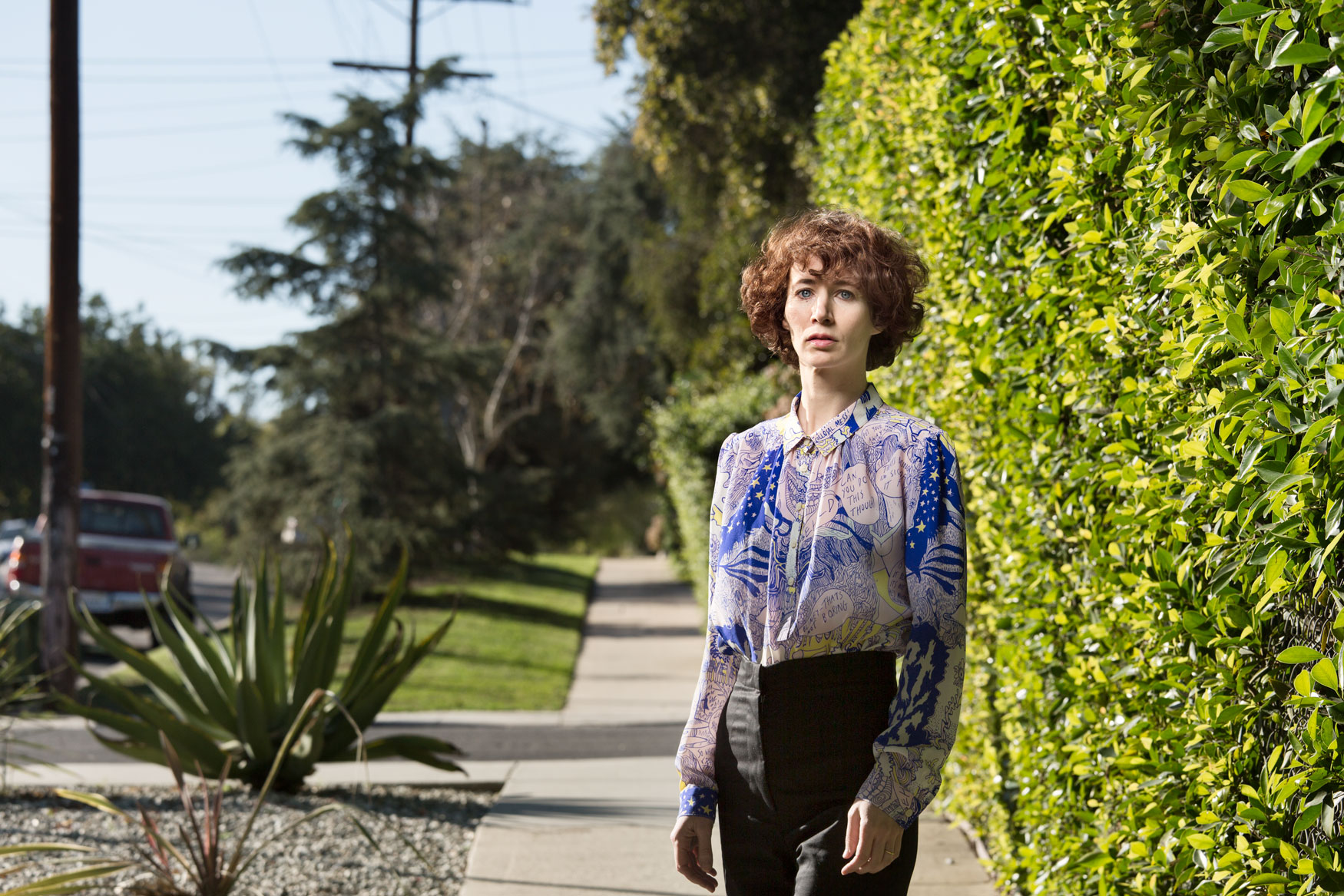 Miranda July in Los Angeles