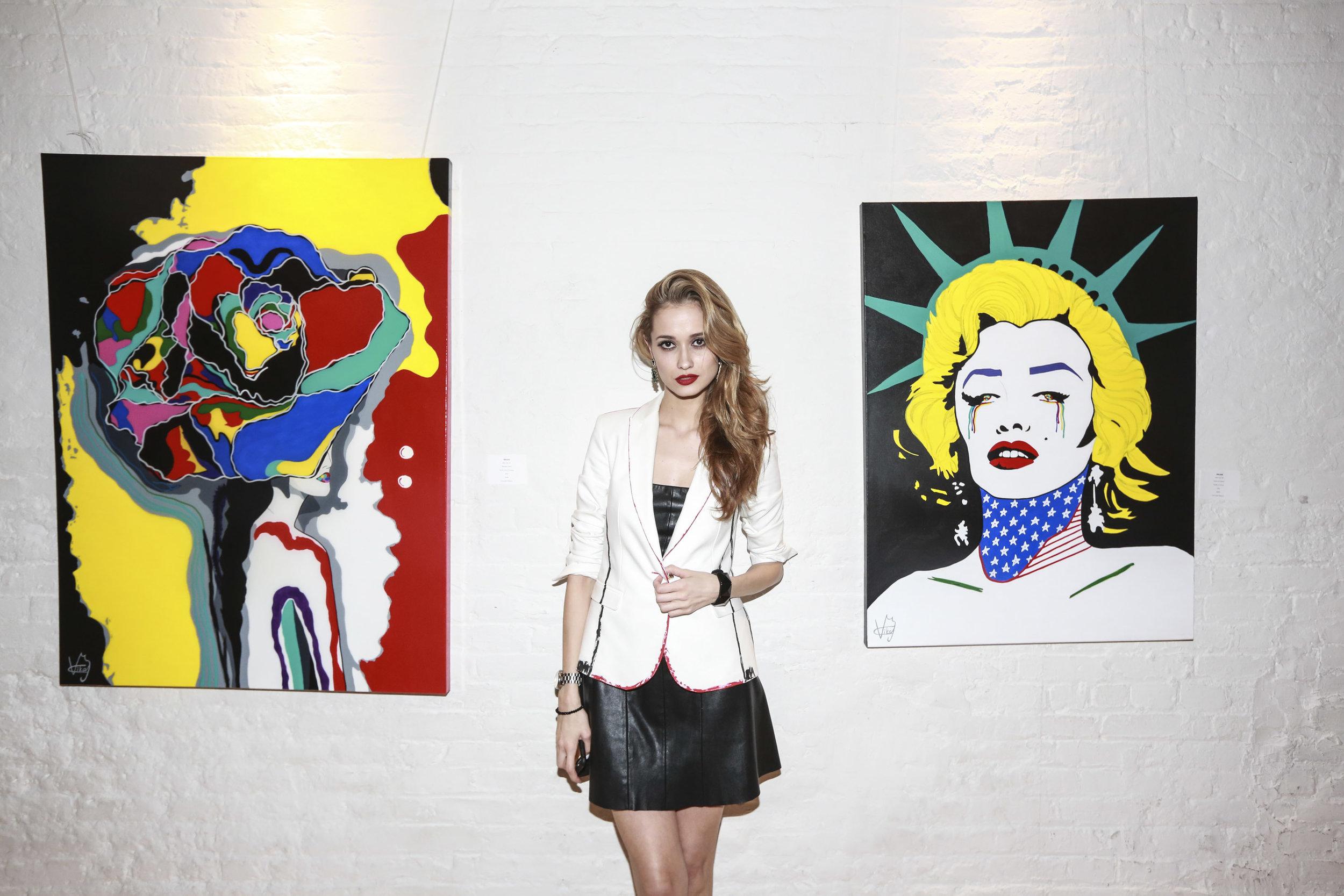 Vika Costa Exhibition
