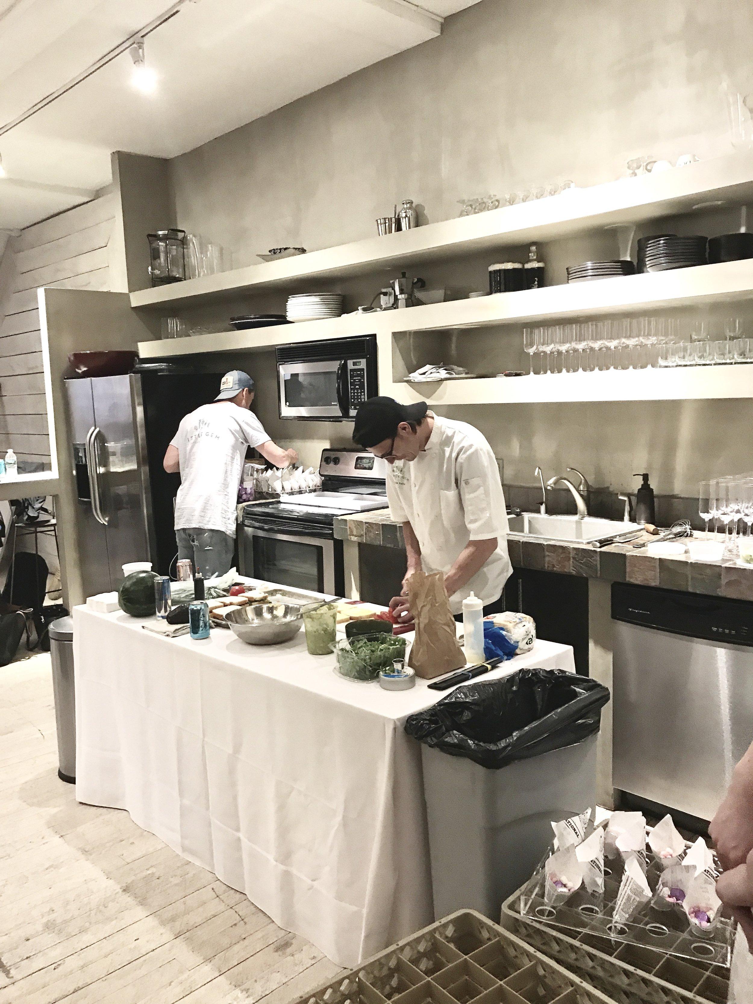 Kitchenette at work