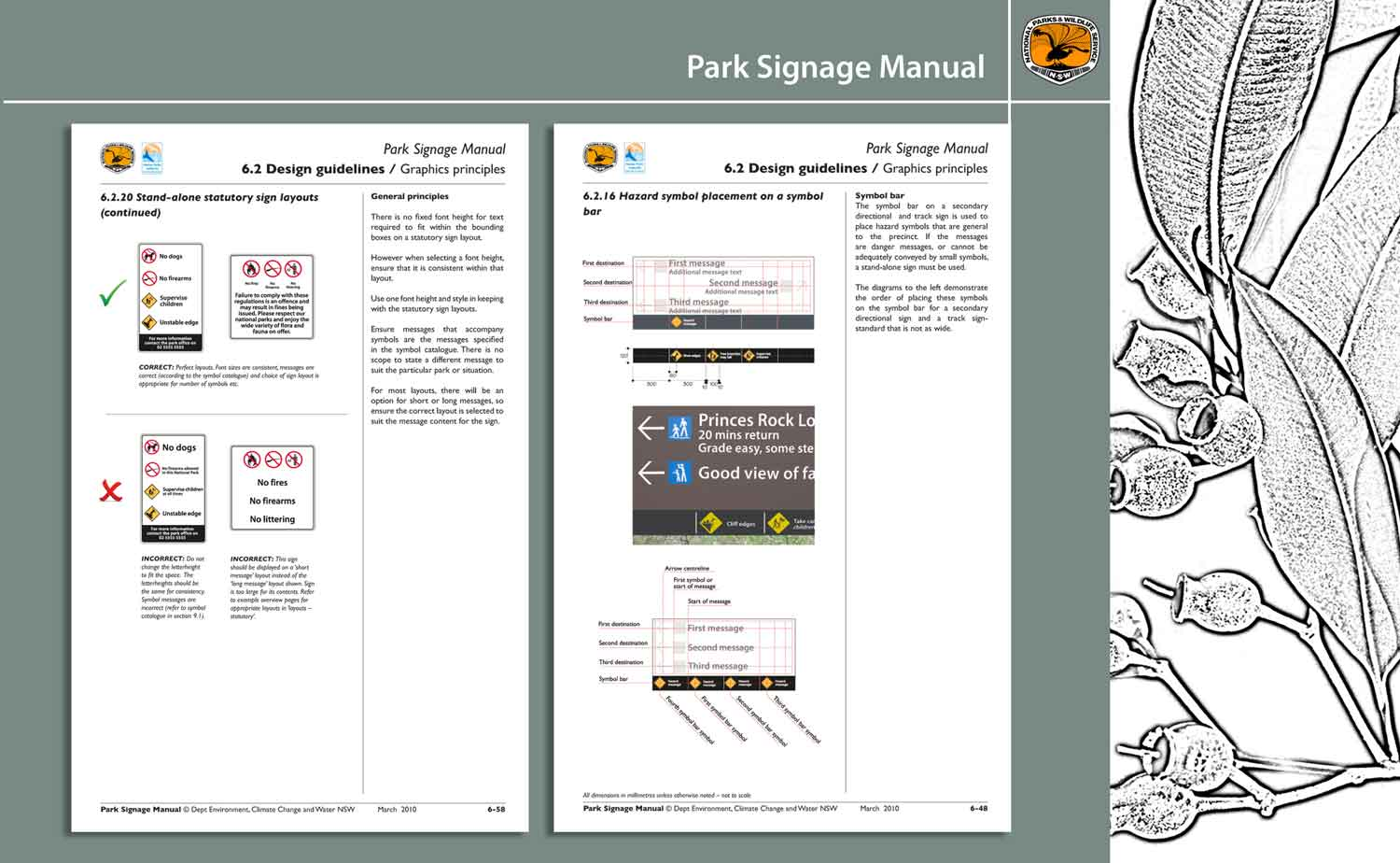 NSW National Parks and Wildlife Service Signage Manual