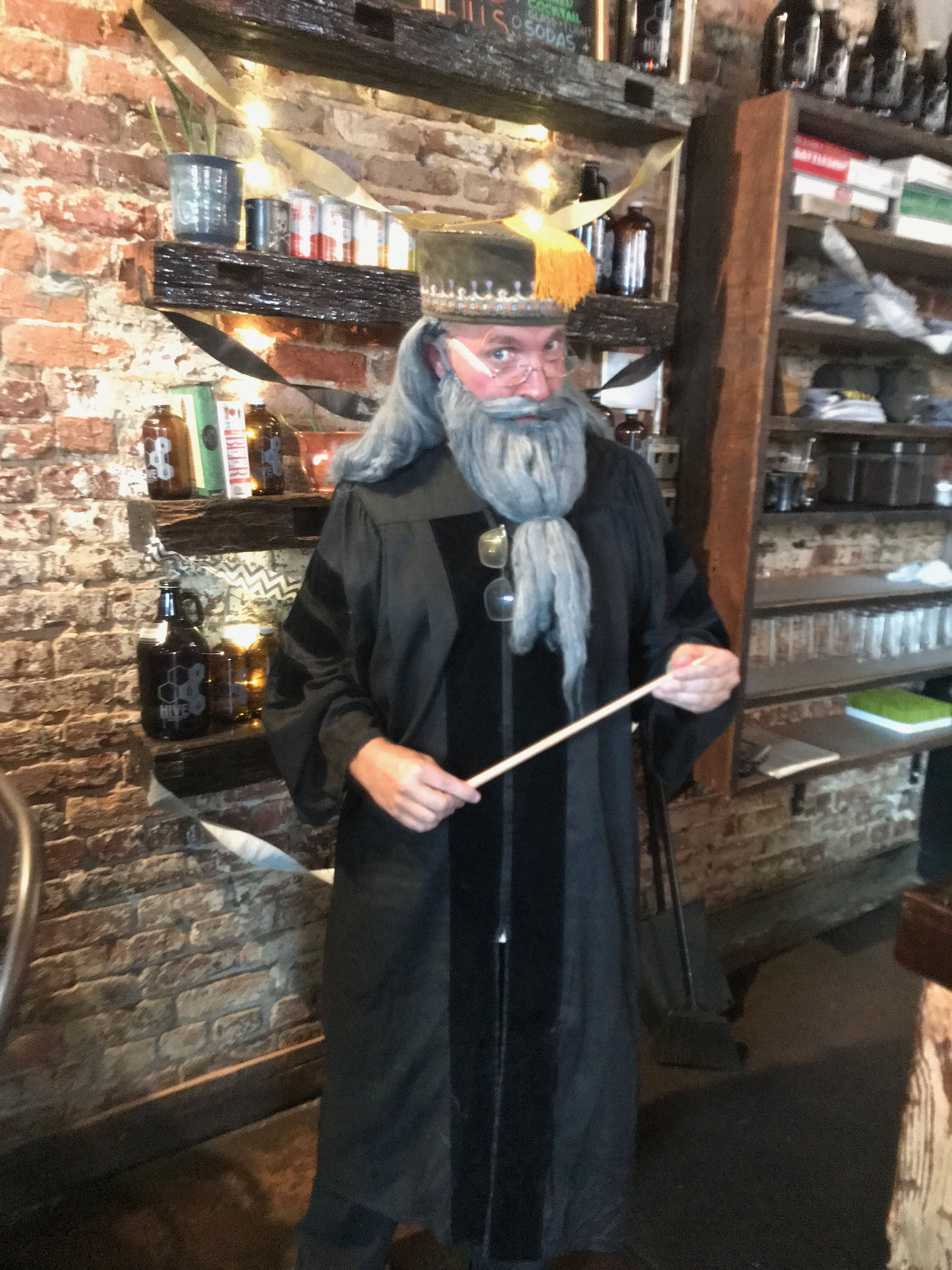 Dr Rob is a Wizard on weekends