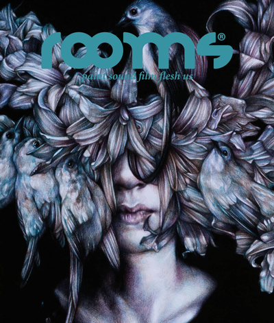 Rooms Magazine: art uncovered #10. Cover art by Marco Mazzoni