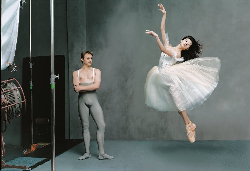 Dancers Yuan Yuan & Vadim Solomakha © Annie Leibovitz