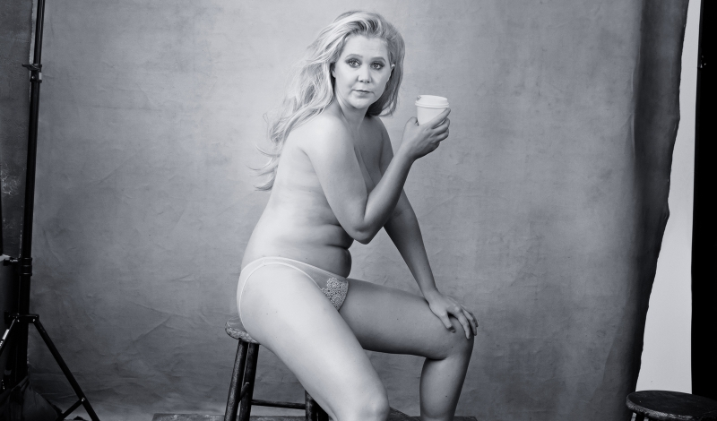 Amy Schumer for the 2016  Pirelli   Calendar  © Annie Leibovitz