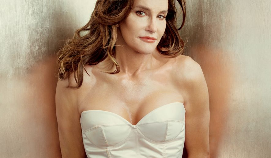 Caitlin Jenner photographed for the cover of  Vanity Fair  © Annie Leibovitz / Vanity Fair