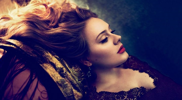 Adele photographed for  Vogue  © Annie Leibovitz / Vogue