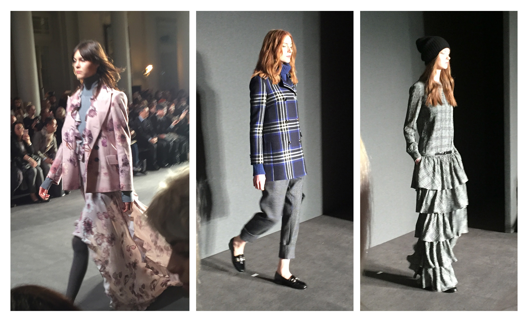 DAKS collection was a mix of masculine and feminine designs