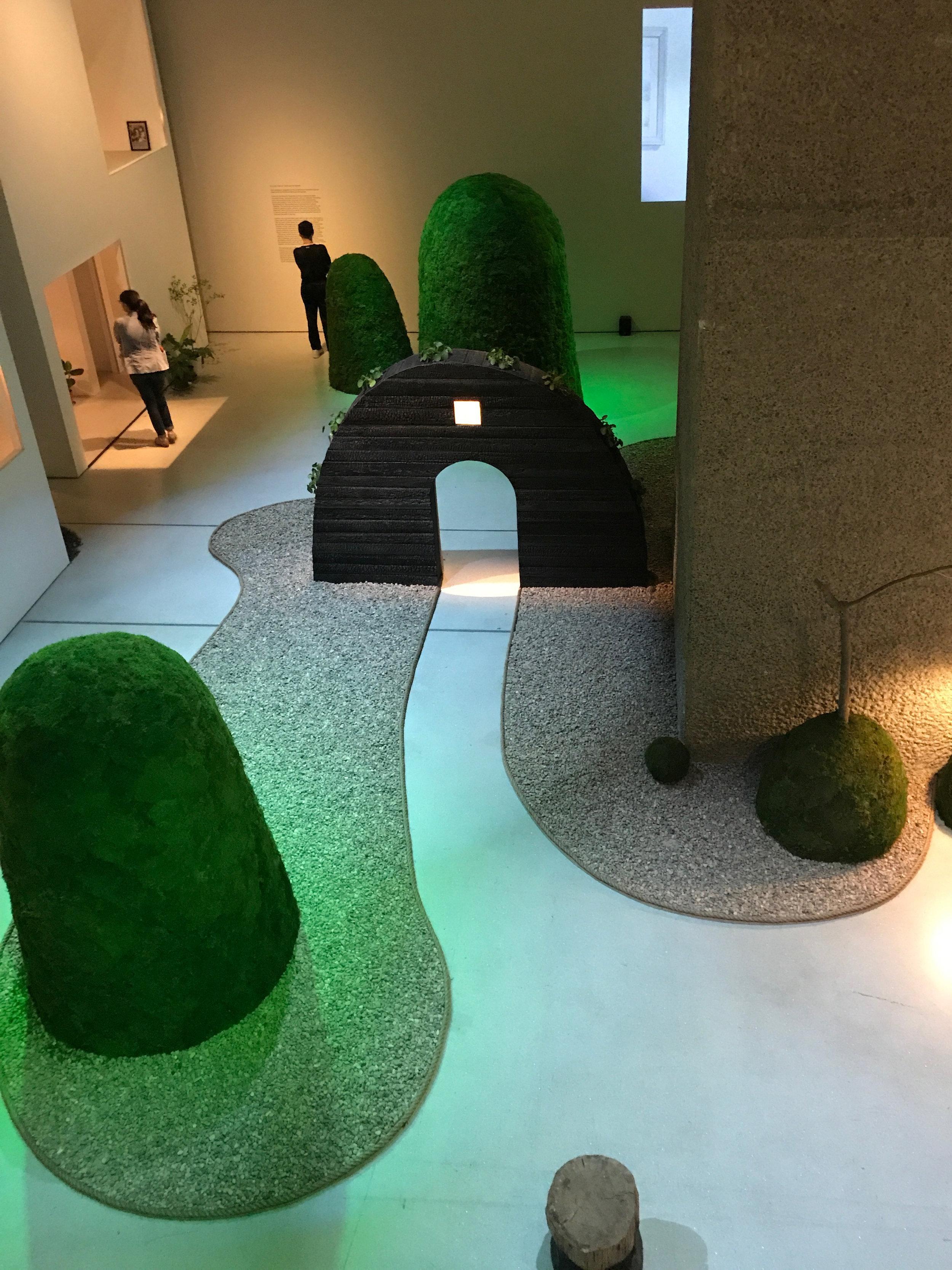 Garden designed by Terunobu Fujimori