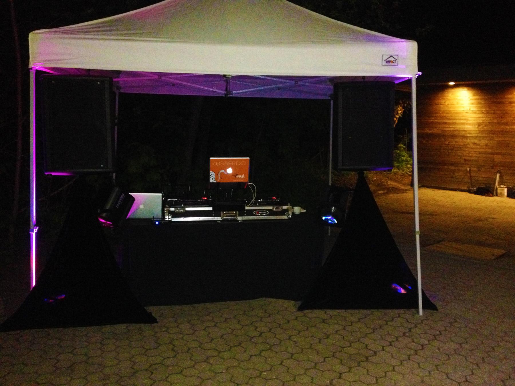 Del Vinyl Tent Set up Kortright Center.JPG