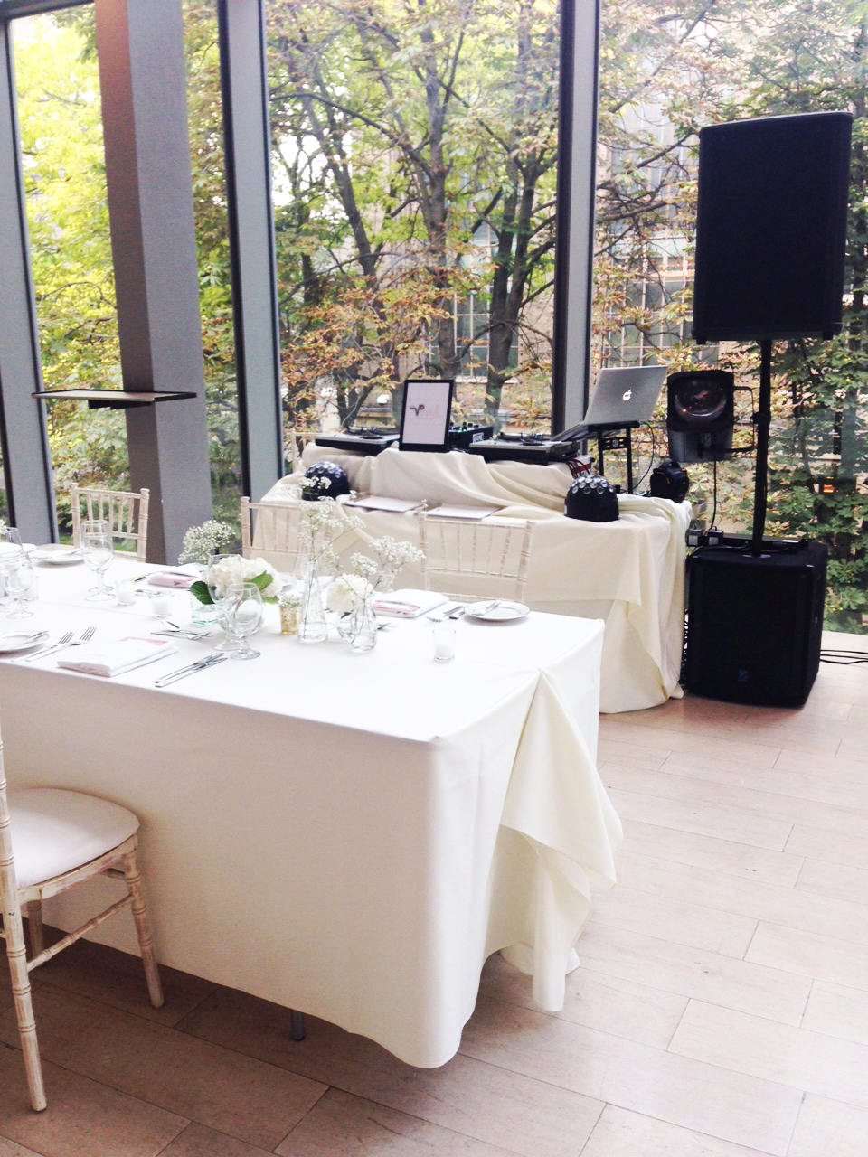 dj setup Royal Conservatory of Music wedding .jpg